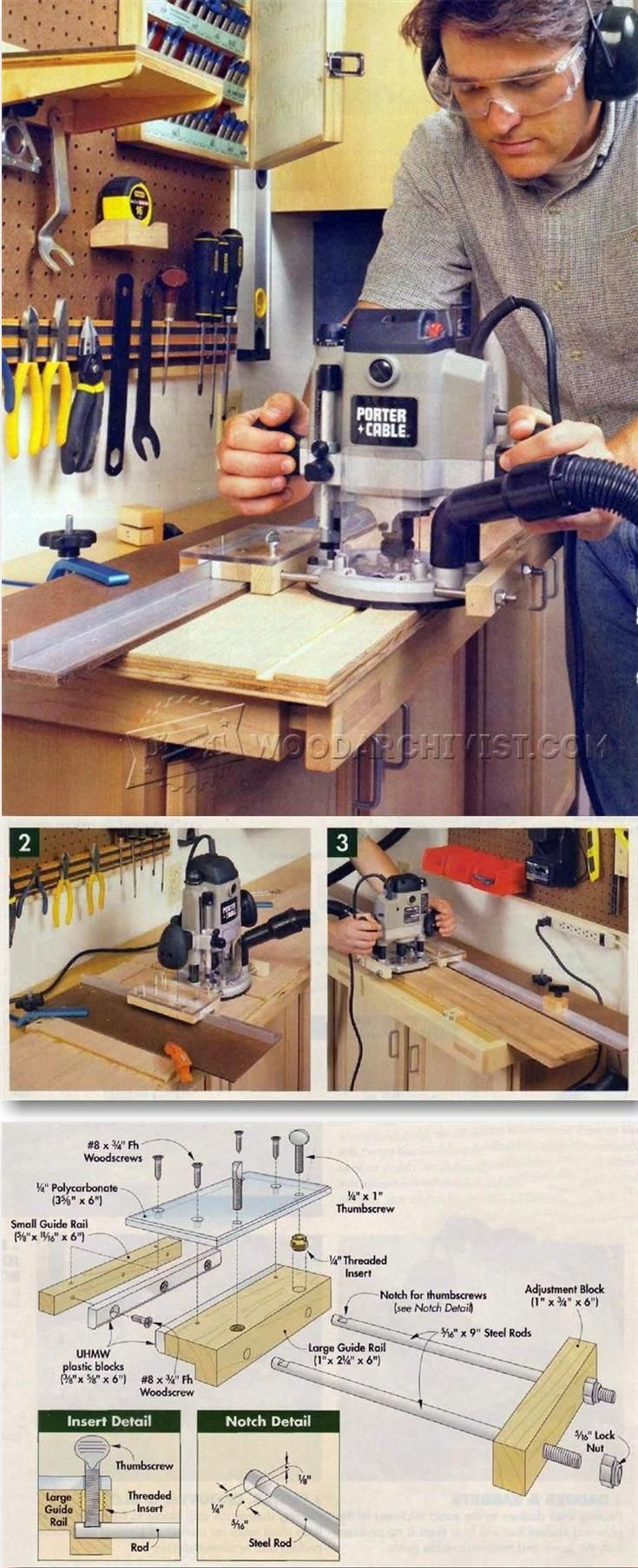 DIY Router Guide - Router Tips, Jigs and Fixtures   WoodArchivist.com