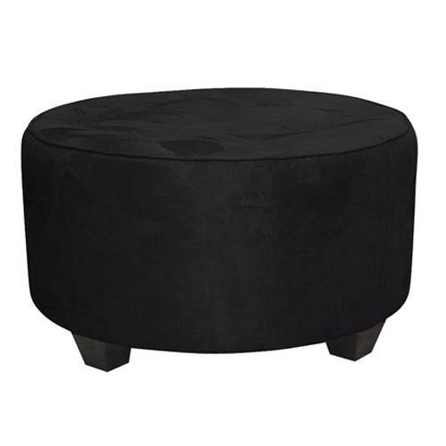 Marvelous Skyline Furniture Mfg Premier Black Tufted Round Cocktail Lamtechconsult Wood Chair Design Ideas Lamtechconsultcom