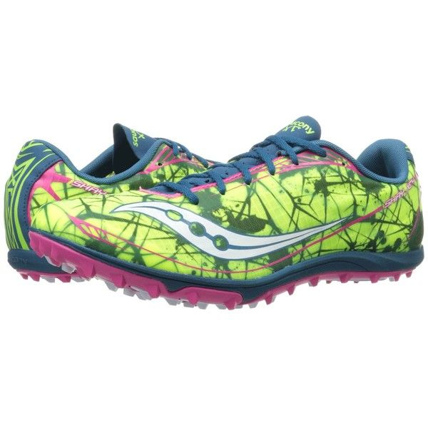 7f1ec602ed Saucony Shay XC Flat Women's Shoes ($75) ❤ liked on Polyvore ...