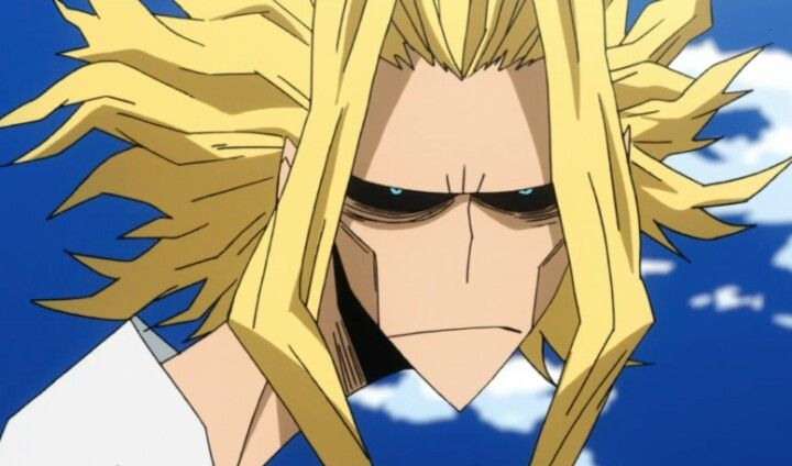 All Might, deflated