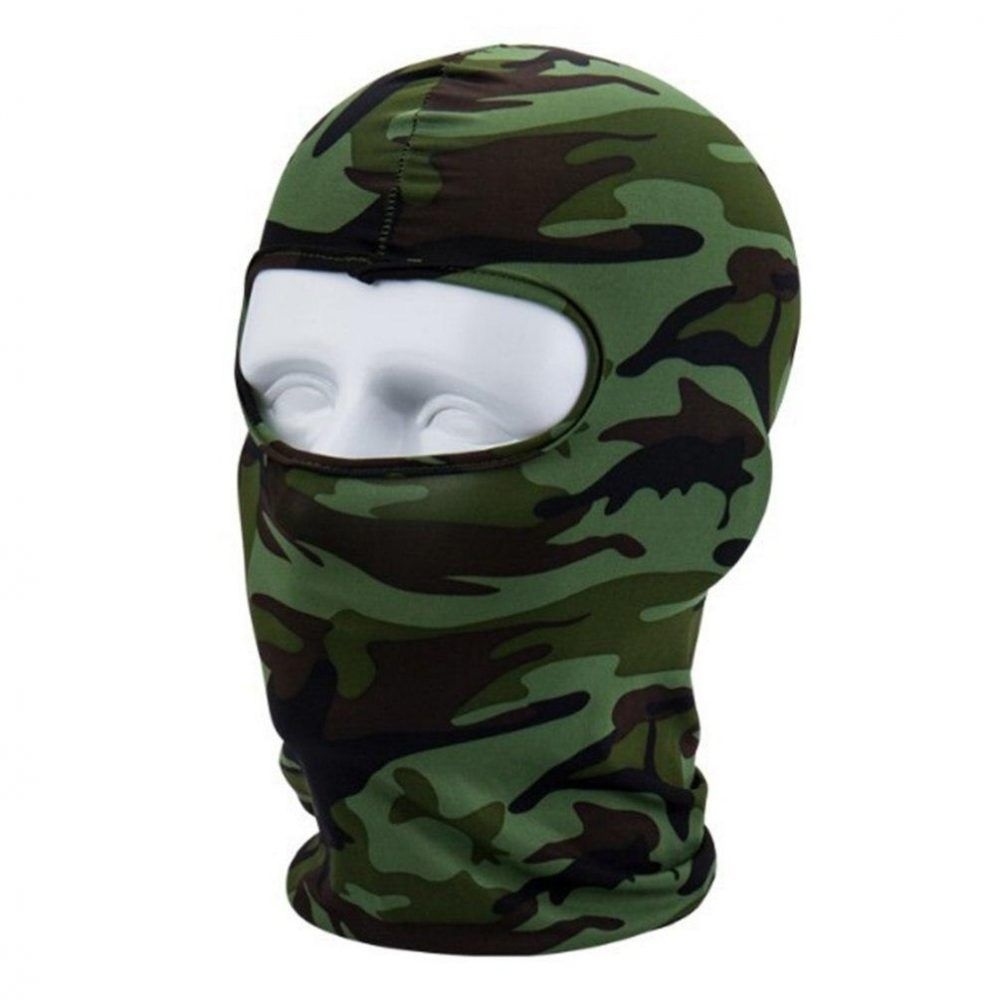 Camouflage Winter Fleece Warm Full Face Cover Anti Dust Windproof Ski Mask Balaclavas Sadoun Sales International In 2020 Full Face Mask Face Mask Dust Mask
