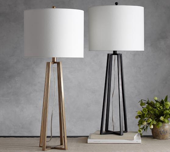 Carter Table Lamp Glass Table Lamp Lamp Metal Floor Lamps