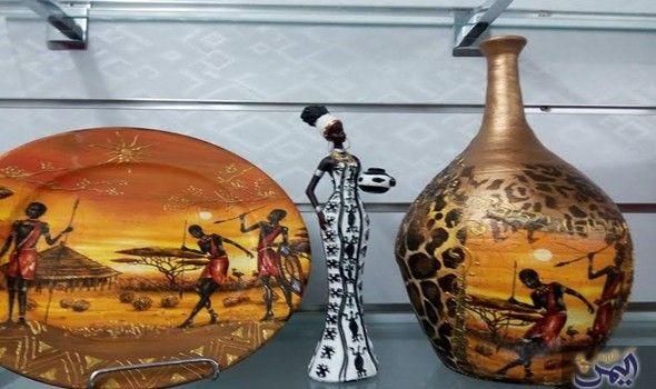 سهام حمداني تكشف بأسرار مواهبها المتعددة في تزيين الفخار Home Decor Decor Vase