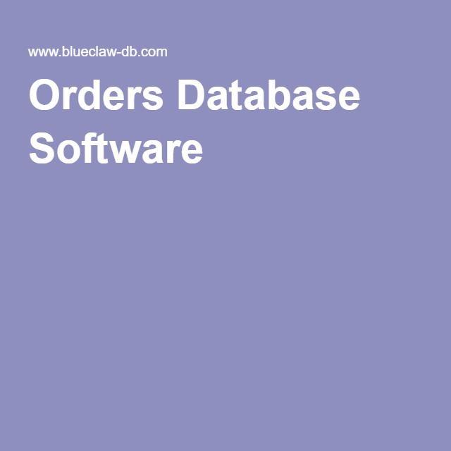 Orders Database Software Template Manage Vendor Master List