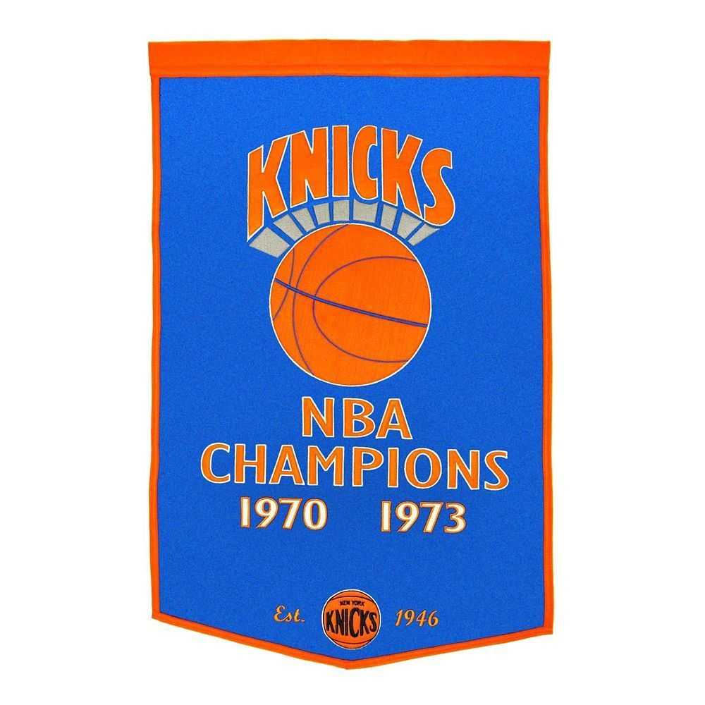New York Knicks Dynasty Banner, Multicolor