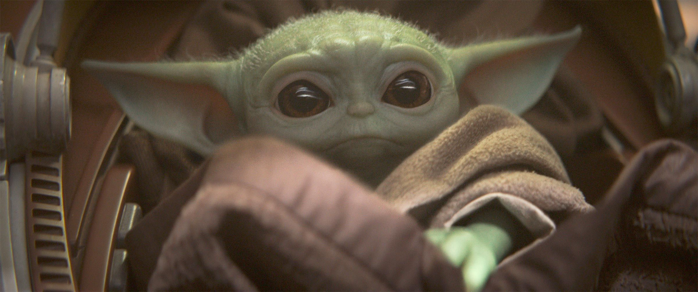 Baby Yoda Is Extremely Cute In Concept Art Form Too Yoda Wallpaper Star Wars Baby Star Wars Yoda