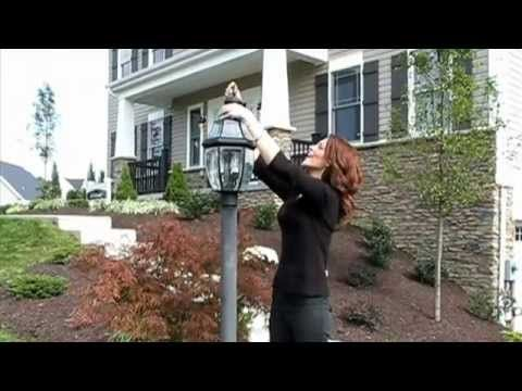 How To Change A Lamp Post Light Bulb Post Lights Lamp Post Lights Lamp Post
