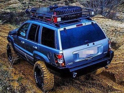 Jeep Grand Cherokee Wj Rear Steel Custom Bumper Jeep Wj Jeep