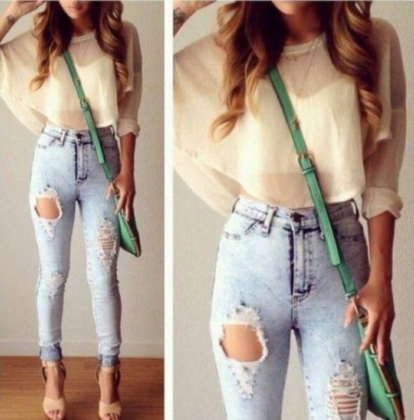 1000  images about CrOPs n JeAnS on Pinterest | Pants High