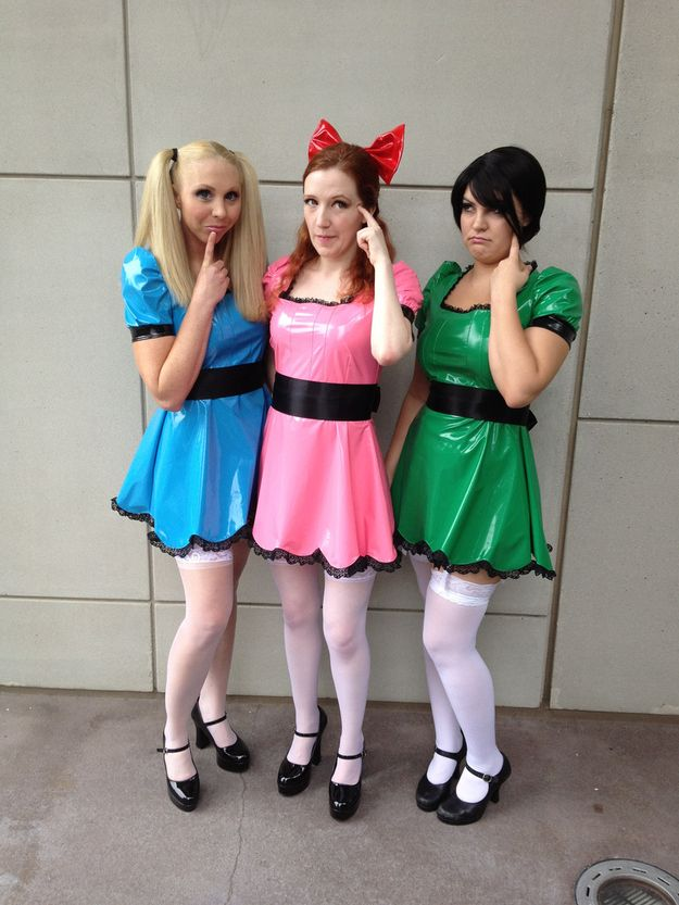 The Powerpuff Girls | 16 Halloween Costumes Only u002790s Kids Will Understand  sc 1 st  Pinterest & 16 Halloween Costumes Only u002790s Kids Will Understand | Pinterest ...