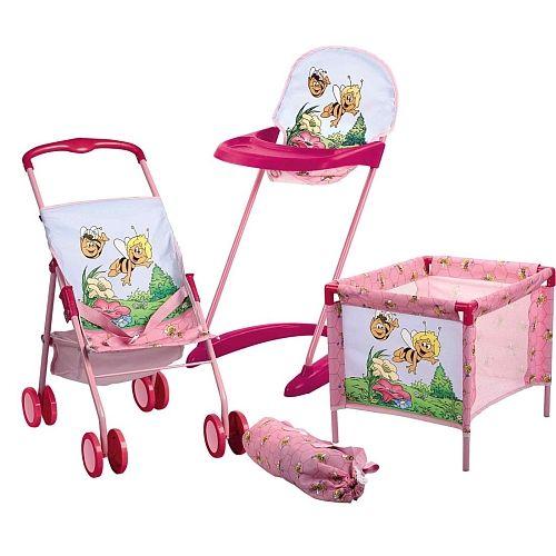 Ensemble Poussette Lit Chaise Haute Maya L Abeille Baby Strollers Stroller High Chair