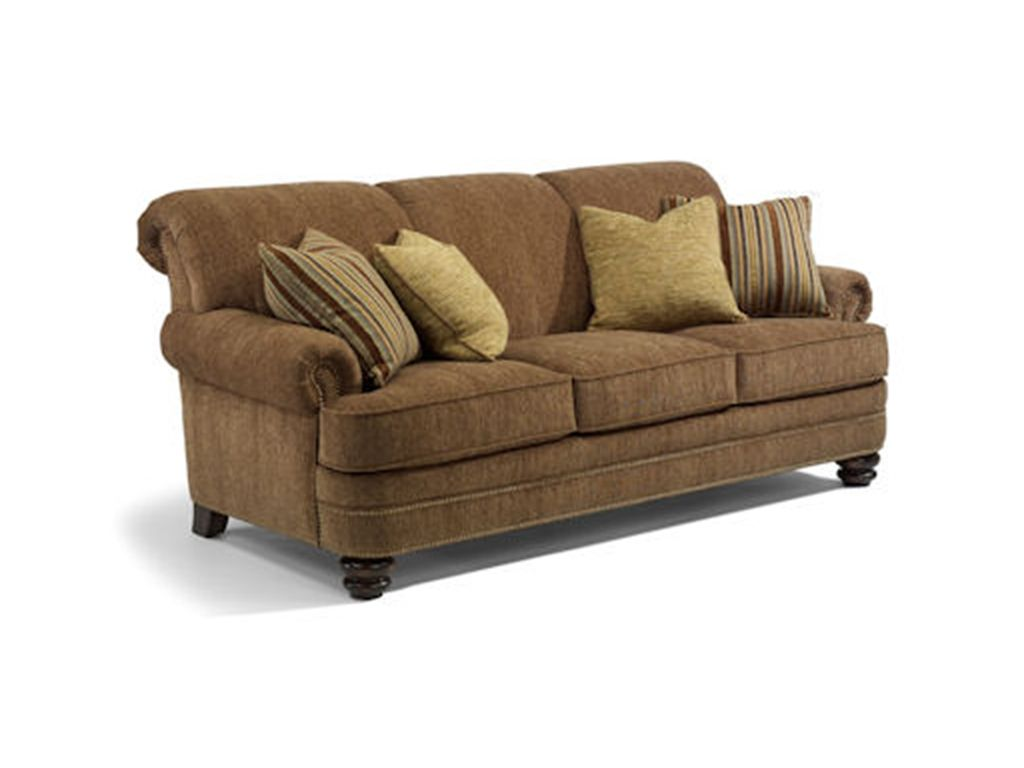 Living Room Furniture North Carolina Flexsteel Living Room Sofa 7791 31 At Indiana Furniture Indiana