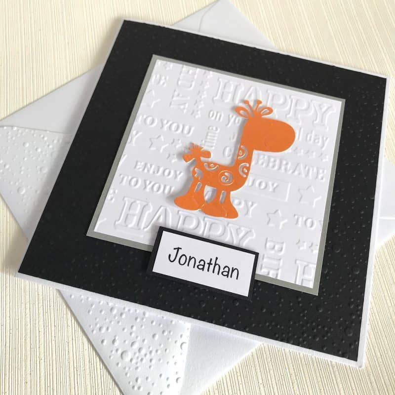 Pin On Animal Themed Embossed Card Packs On Etsy
