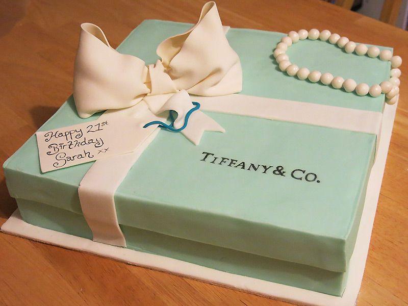 Tiffany Box #cake