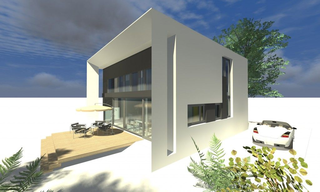 A2cube houses pinterest for Modernes haus cube