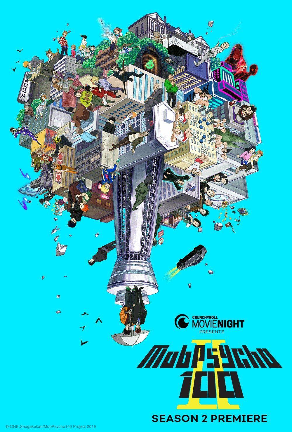 'Mob Psycho 100' Season 2 Is Crunchyroll's First Movie