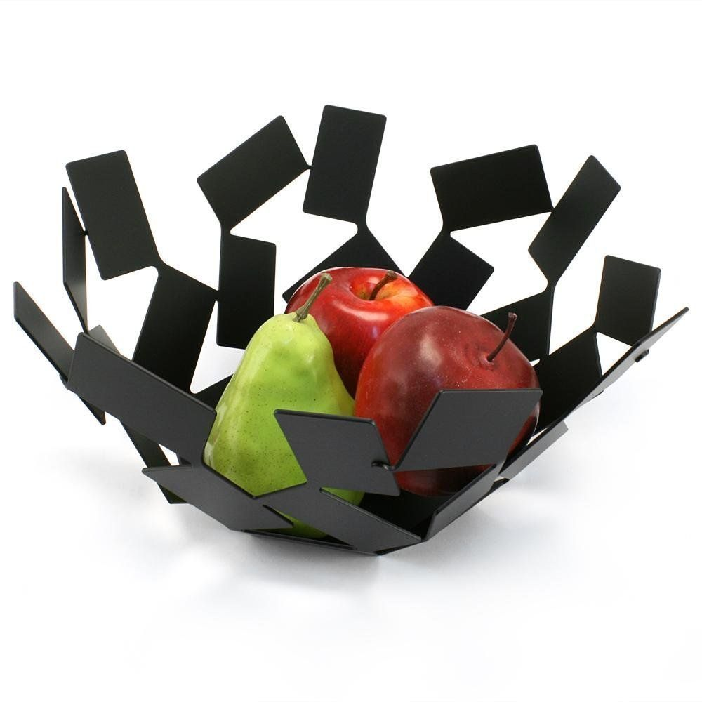 """amazon: alessi """"stanza dello scirocco"""" fruit holder, black"""