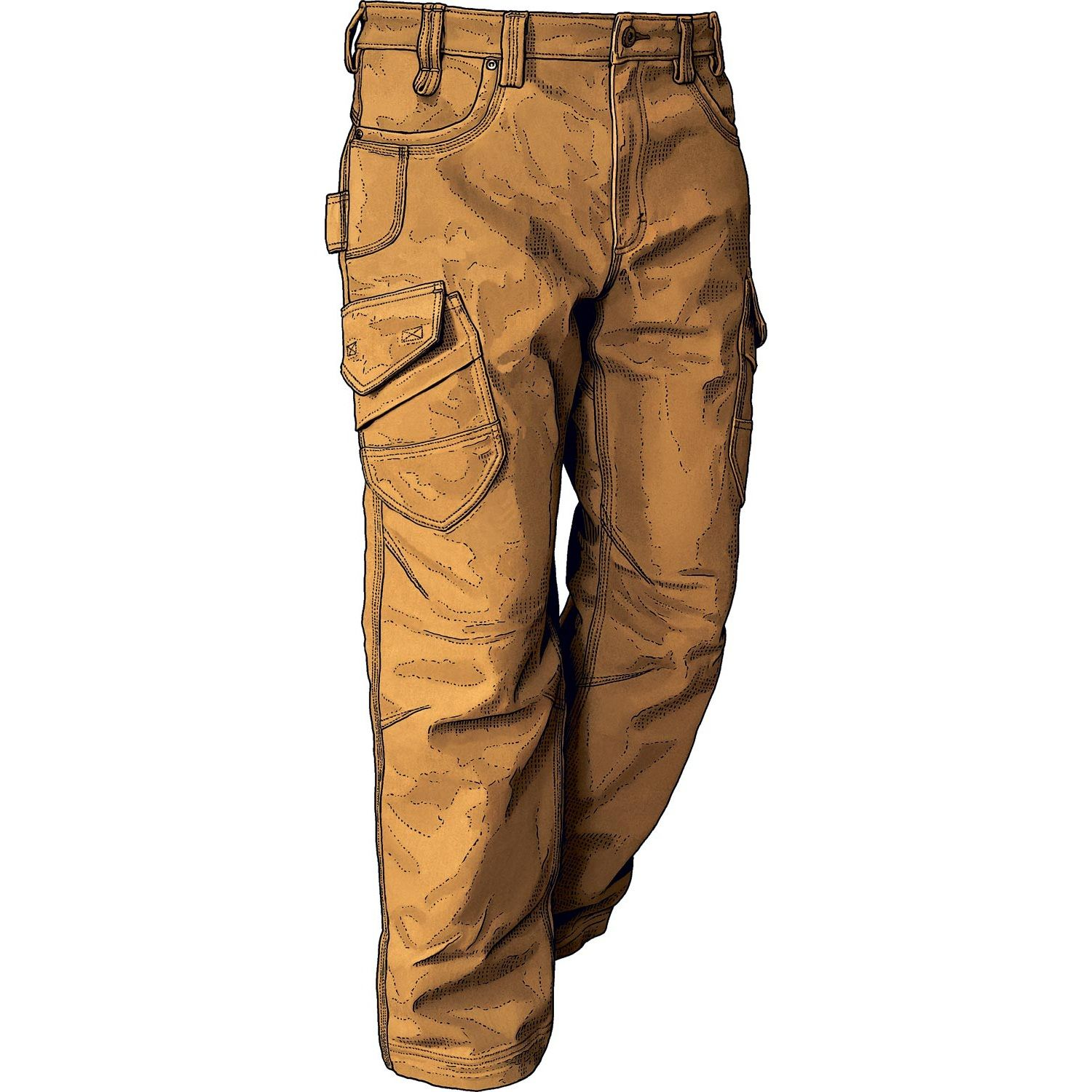 fa0e9df661 Work pants are too hot for summer, right? Think again! Sweatstop Fire Hose  is still highly abrasion-resistant, and has 24% wicking CoolMax to wick  away ...