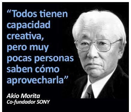 Anécdota De Akio Morita Fundador De Sony At Alvarodabril