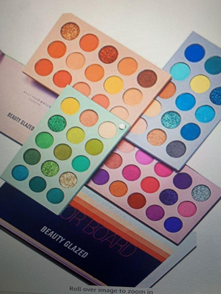 Beauty Glazed Palette For 17 In 2020 Beauty Glazed Eye Make Up Makeup Palette