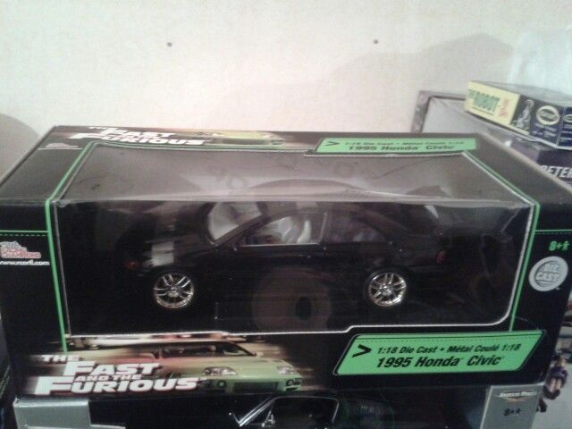 Ertl Racing Champions 1 18th Scale Honda Civic From Fast And Furious