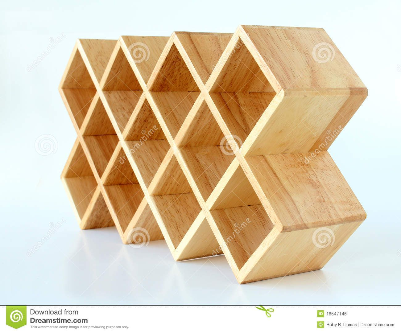 SHOW A few pieces of the everyday lattice from the hardware store ...