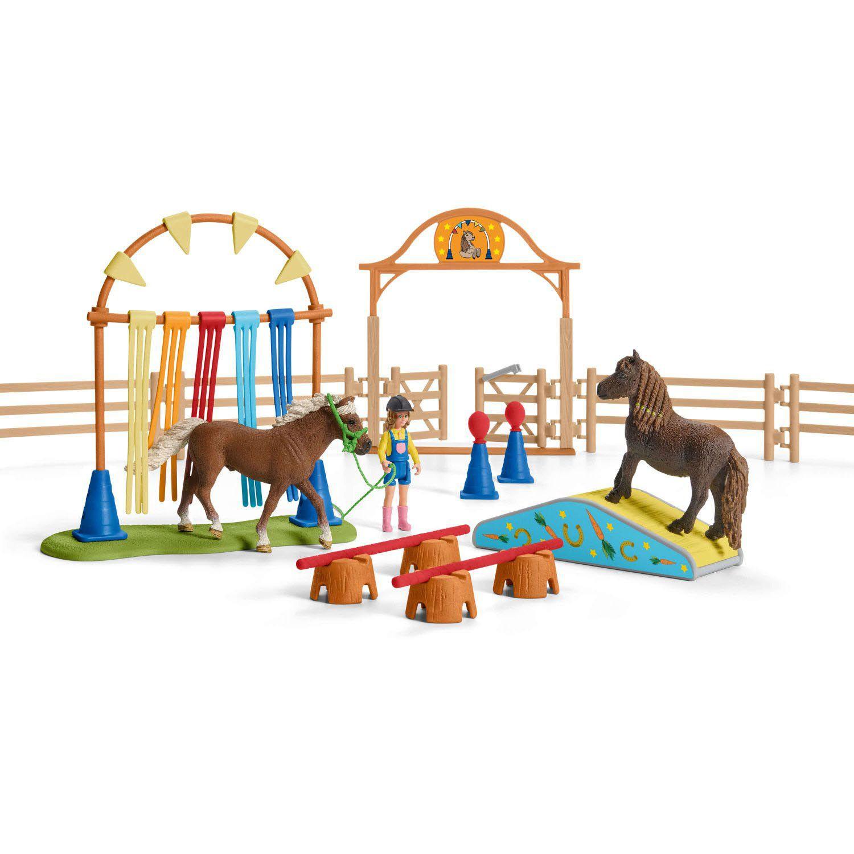 SCHLEICH 42484-farm World-Pony flattervorhang