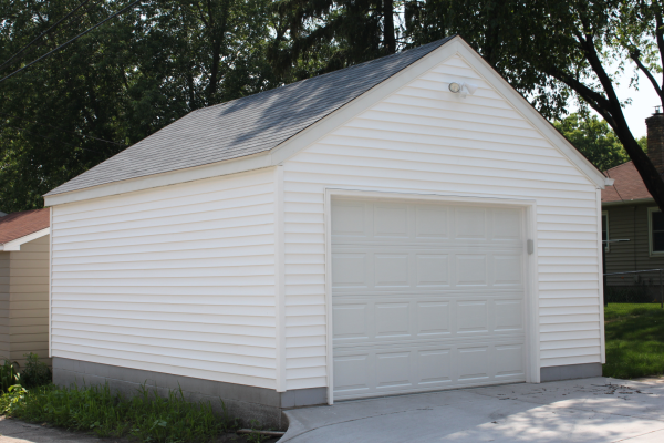 Single Car Garage Size Garage Style Garage Builders Garage Design