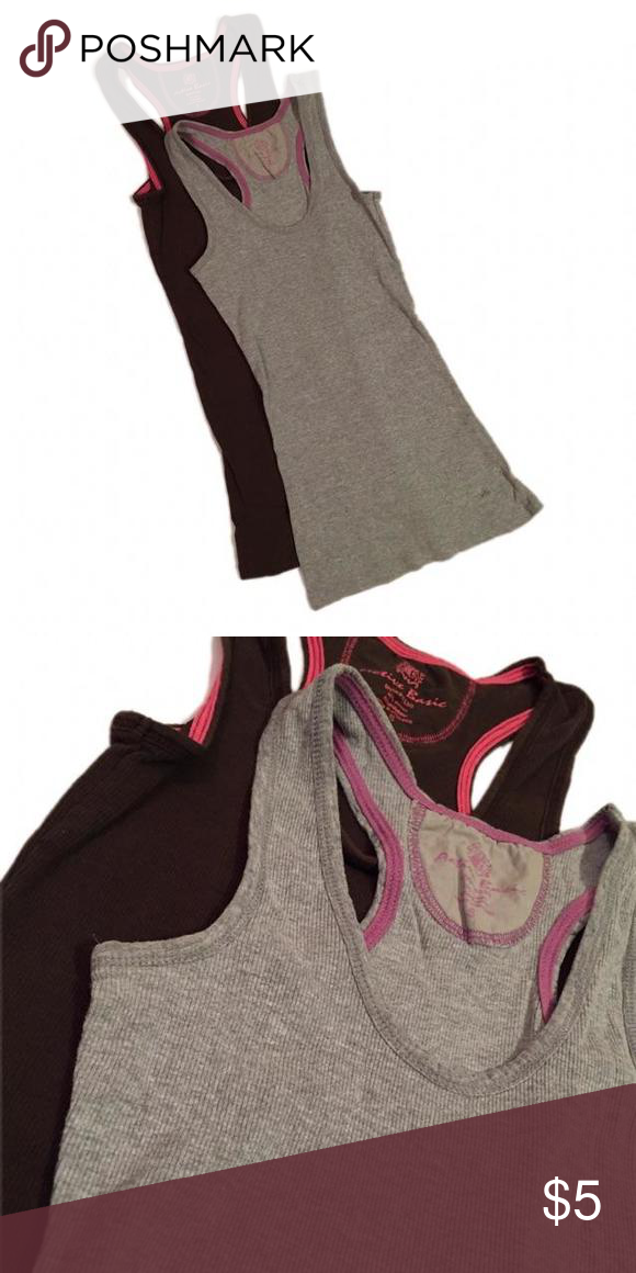 2 Piece Tank Top Bundle Gently worn. Great for layering $1.25 each Tops Tank Tops