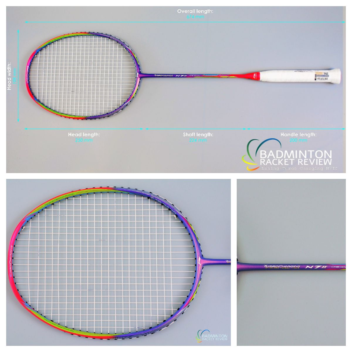 9f45c8a3d8c Li-Ning Turbo Charging N7ii Badminton Racket Review. To find out about this  racket s