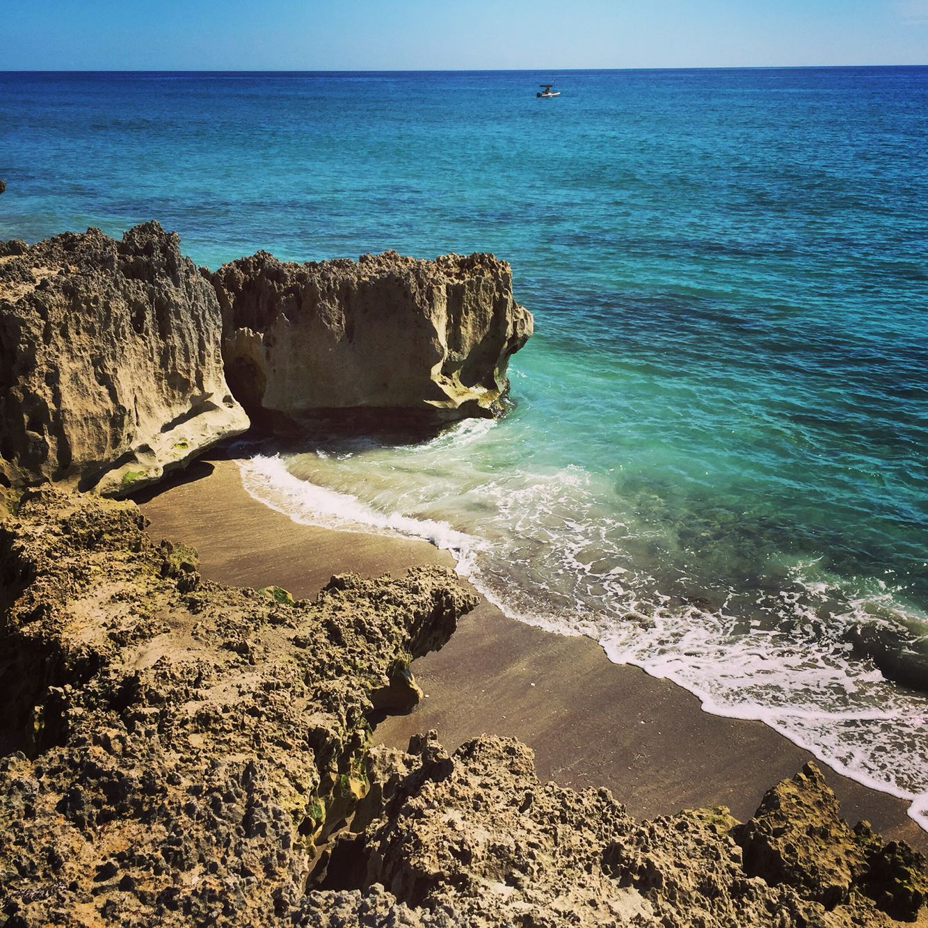 Island Beach Scenes: Hutchinson Island, Florida. Ross Witham Beach.
