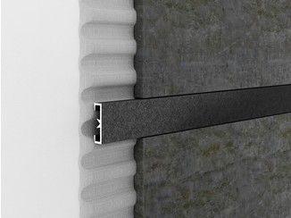 Profile De Finition Decoratif En Aluminium Pour Murs Cerfix Prolist