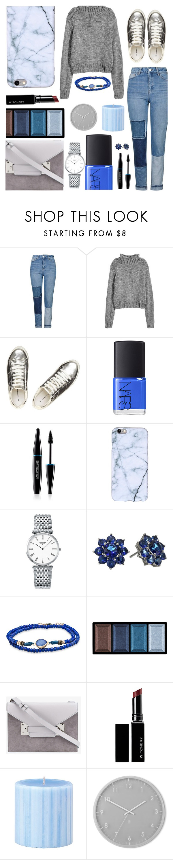 """""""Untitled #327"""" by romi-kella ❤ liked on Polyvore featuring Topshop, Dorothy Perkins, NARS Cosmetics, MAKE UP FOR EVER, Longines, Nina, Platadepalo, Clé de Peau Beauté, Sophie Hulme and Witchery"""