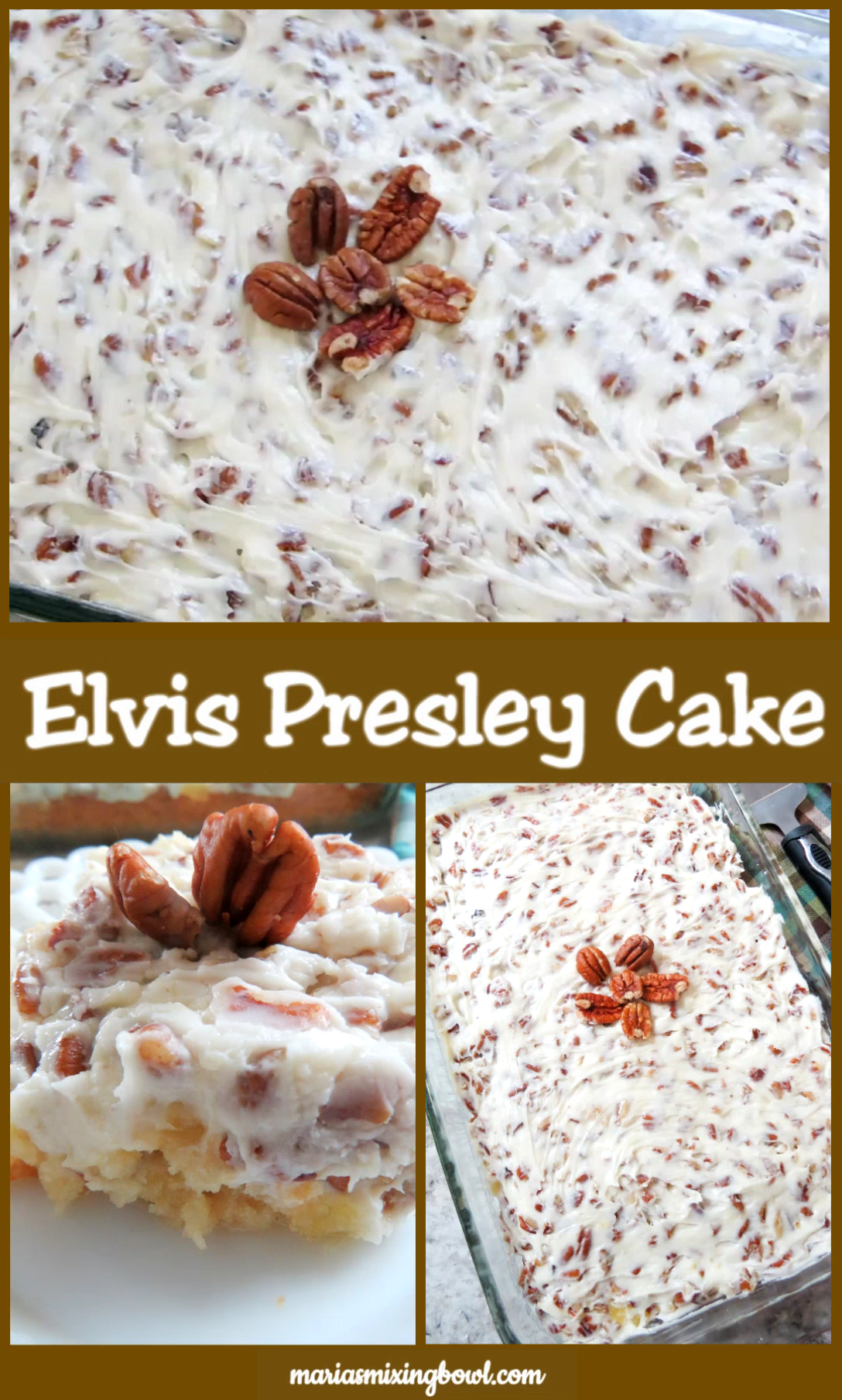 Elvis Presley Cake  #potluckrecipes