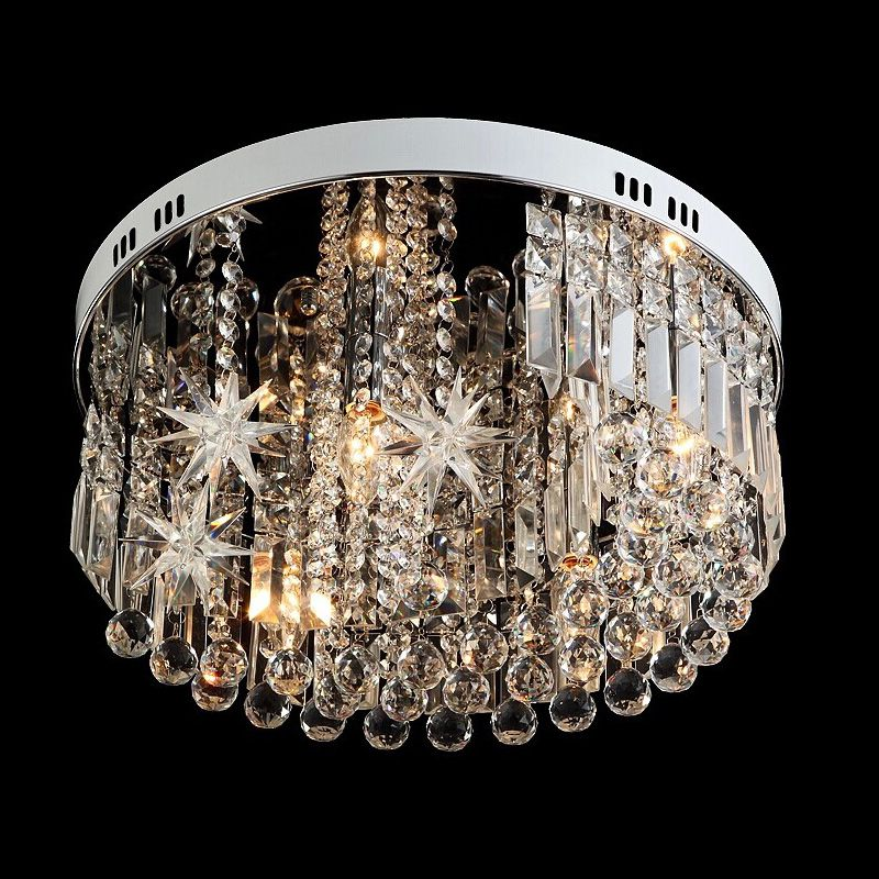 Surface novelty star crystal lighting led ceiling lamp for children surface novelty star crystal lighting led ceiling lamp for children room kids light fixtures modern round aloadofball Gallery
