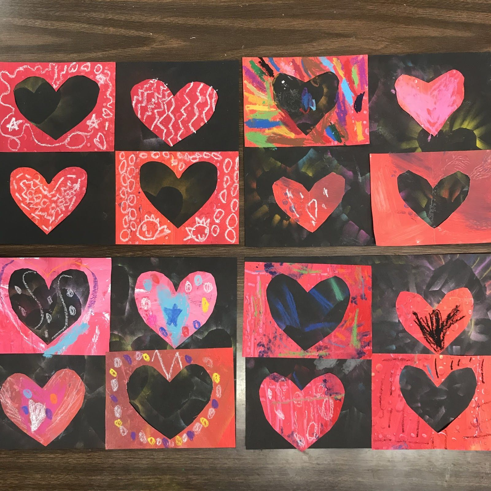 Kindergarten Exploding Hearts Things For My Classroom Pinterest