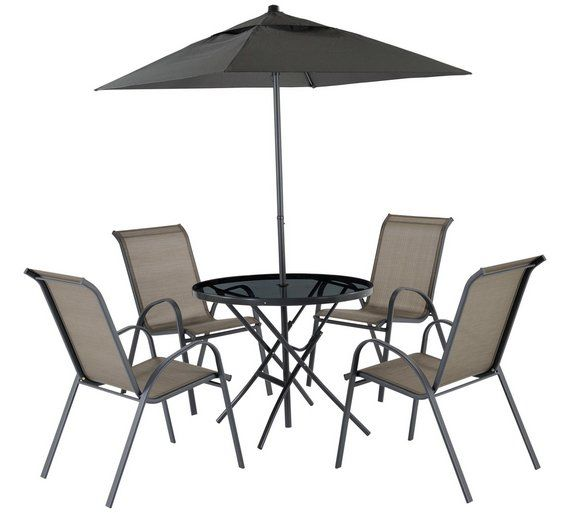 Argos Sicily Garden Table And Chairs: Buy Sicily 4 Seater Patio Set