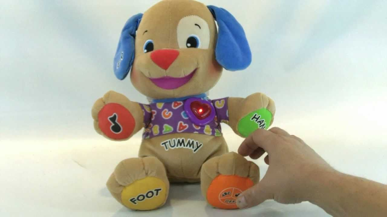 Dog toys images  FisherPrice Laugh and Learn To Play Puppy Plush Dog Toy  Stuff to