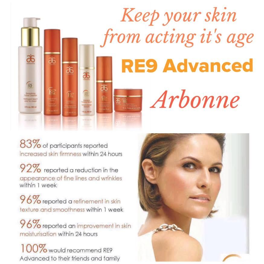 Arbonne's Anti-Aging Line is the best!   Visit my website and request a free sample!  www.ashleystone.myarbonne.com