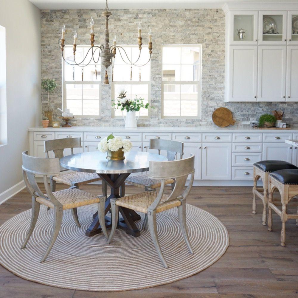 Kathryn Miller Interiors Kitchen Breakfast Nook, Ranch Mission Viejo