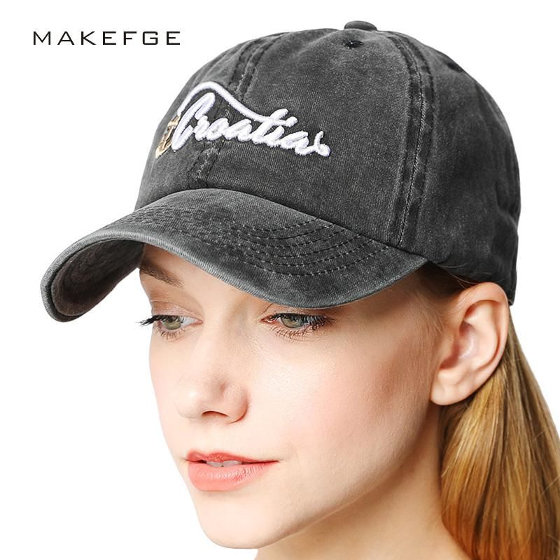 47ec5cc823 100% Cotton Gorras anchor women black caps men golf Baseball Cap ...