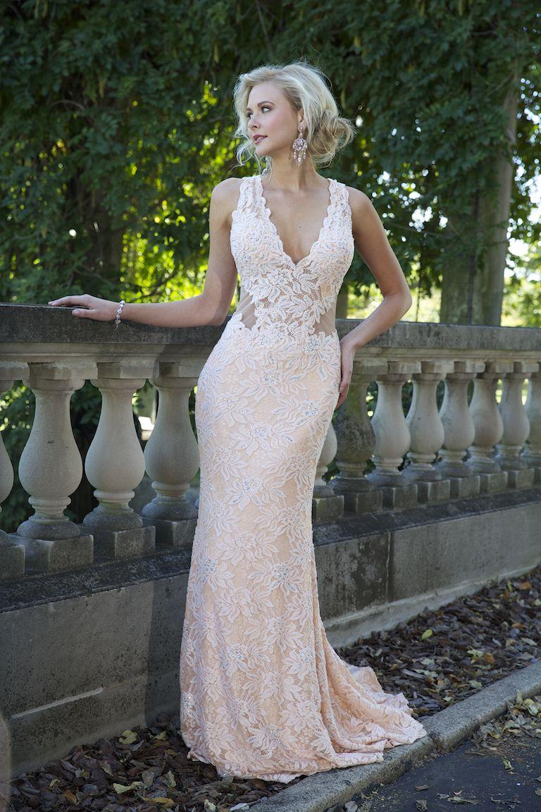 Роскошное вечернее платье в пол Jovani 93141 покупают в