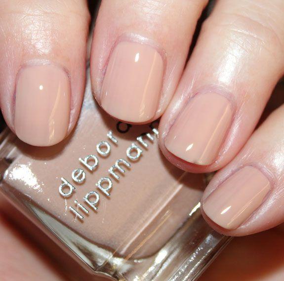 Deborah Lippmann Nail Polish in Naked | Safe Nail Designs ...