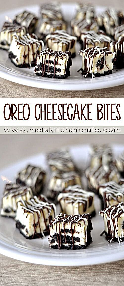 Oreo Cheesecake Bites {Simple and Delicious} | Mel's Kitchen Cafe