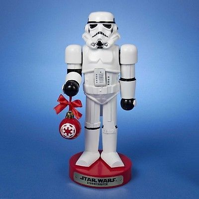 Nutcrackers 177743: Star Wars Storm Trooper Holding Red Ornament 10 Inch Christmas Nutcracker -> BUY IT NOW ONLY: $35.98 on eBay!