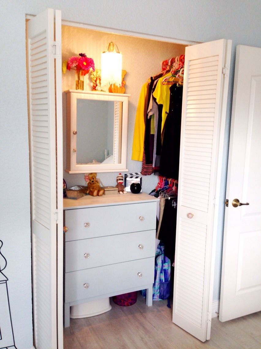 Dresser In Closet For Small Room
