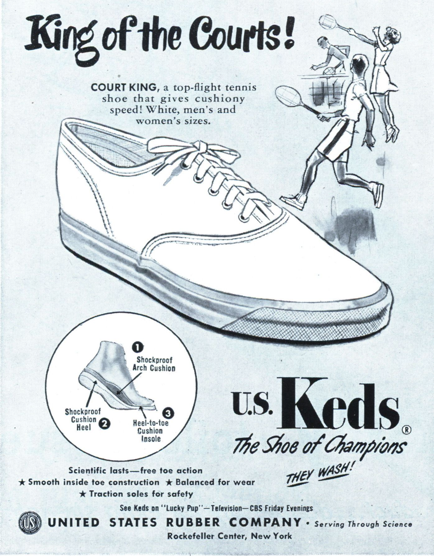 2fa92483618ee9 ... since 1916 (50 years before Vans were introduced) and were THE adult  sneakers of choice for decades (while the kids wore P.F. Flyers and Converse ).