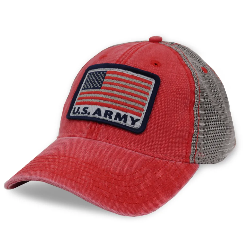 Show Your Army Pride And Americana Spirit With The Army American Flag Dashboard Trucker Hat One Size Fits Most65 Cotton 35 In 2020 Trucker Hat American Flag Trucker
