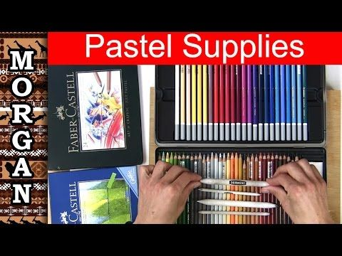 Pastel Pencil Review Caran D Ache Derwent Carbothello