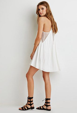 Lace-Paneled Cami Dress | Forever 21 | #thelatest